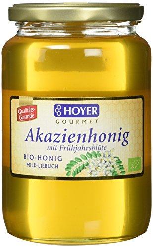 Hoyer Bio Akazienhonig mit Fühjahrsblüte, 1er Pack (1 x 1 kg)