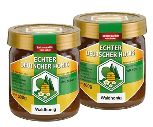 Echter Deutscher Waldhonig (2 x 500g) vom Imker aus Hessen