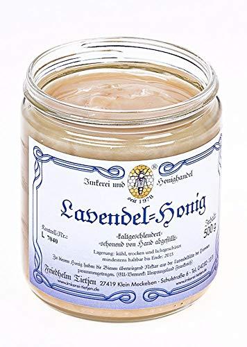 Lavendelhonig 500g – aus der Provence Frankreich - sehr aromatisch, naturbelassen, Honig (von Imkerei Nordheide)
